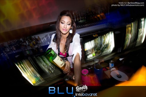 Check out the pics from Wednesday (10.03.12) at Blu